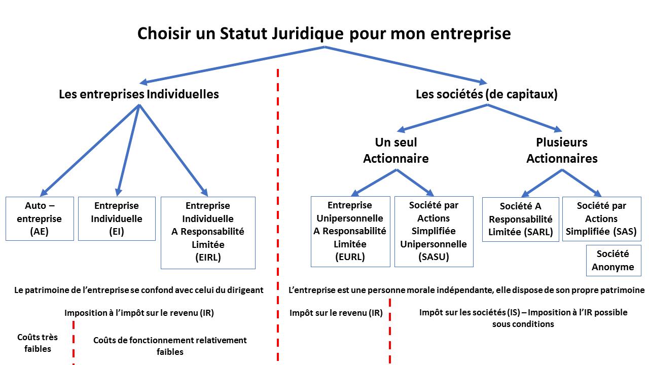 Quel Statut Juridique Choisir Pour Mon Entreprise ? [vidéo