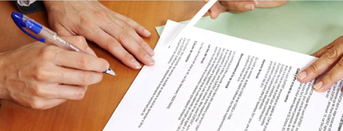 Les contrats commerciaux
