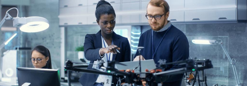 les drones en entreprise