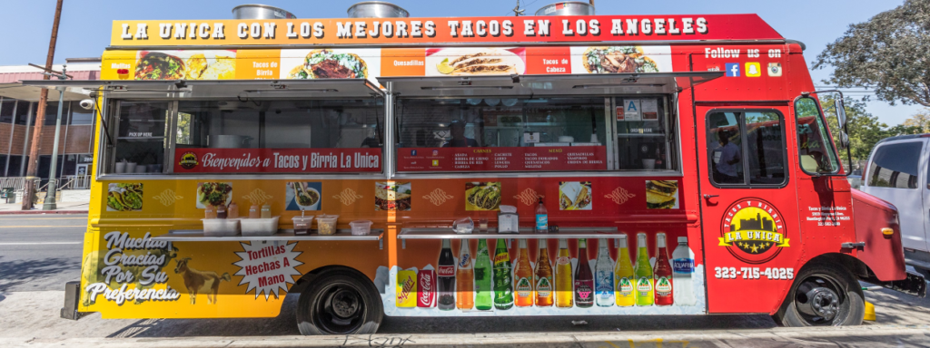 le marché du food truck