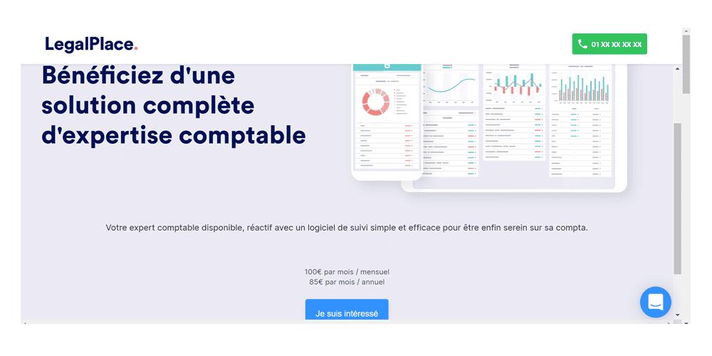 avis et test de la plateforme en ligne Legalplace pour créer votre entreprise en ligne