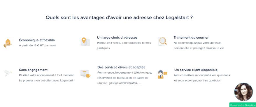 avis clients legalstart plateforme création en ligne