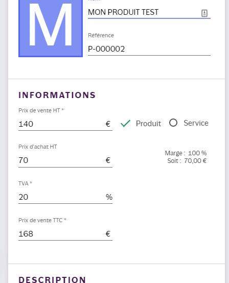 INFast logiciel de facturation notre test en ligne