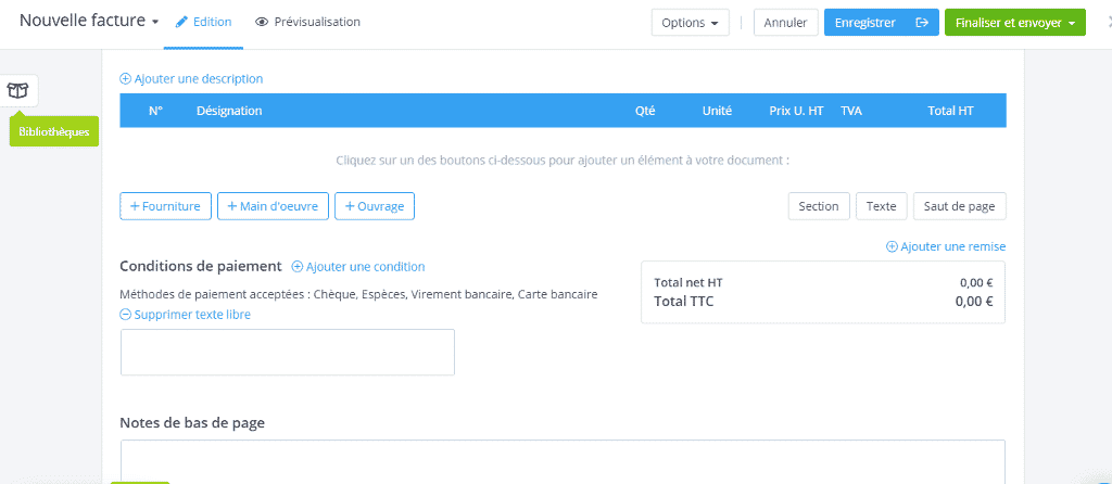 Test et avis du logiciel de facturation OBAT