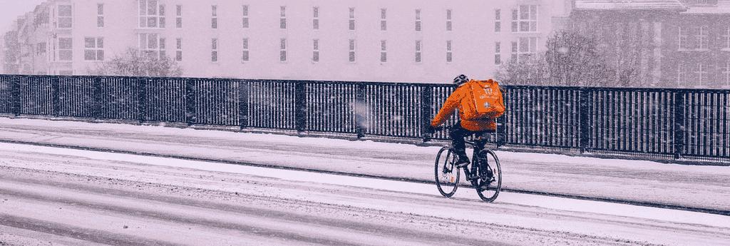 devenir coursier à vélo